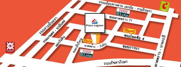 Plaza Lagoon Map